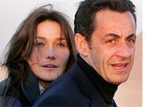 Carla Bruni and Nicolas Sarkozy. Click image to expand.