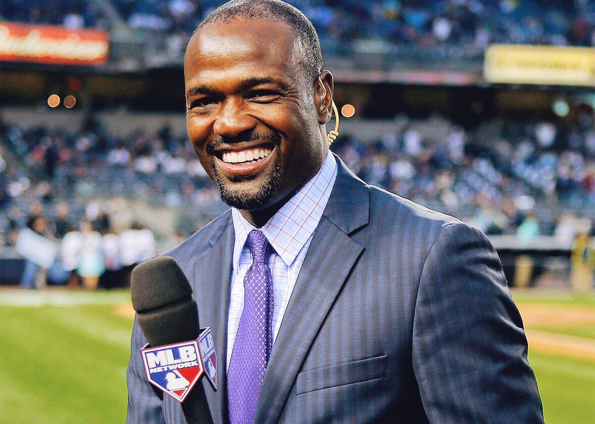 MLB Network broadcaster Harold Reynolds.