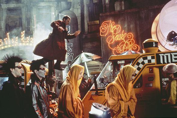 'Blade runner' Rick Deckard (Harrison Ford)