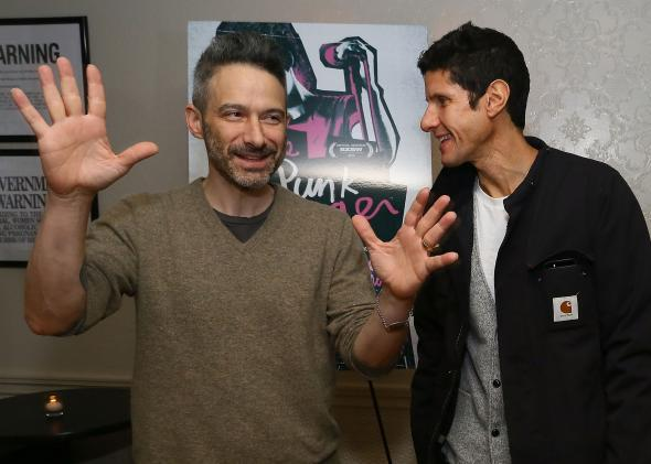 Beastie Boys  Adam Horovitz and Michael Diamond.