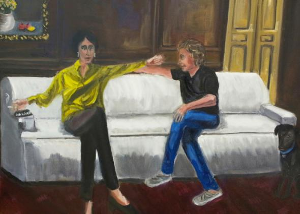 """Vita and Carol Talk Across Time,"" by Carol Anshaw."