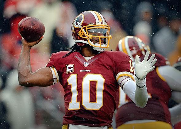 Washington Redskin.