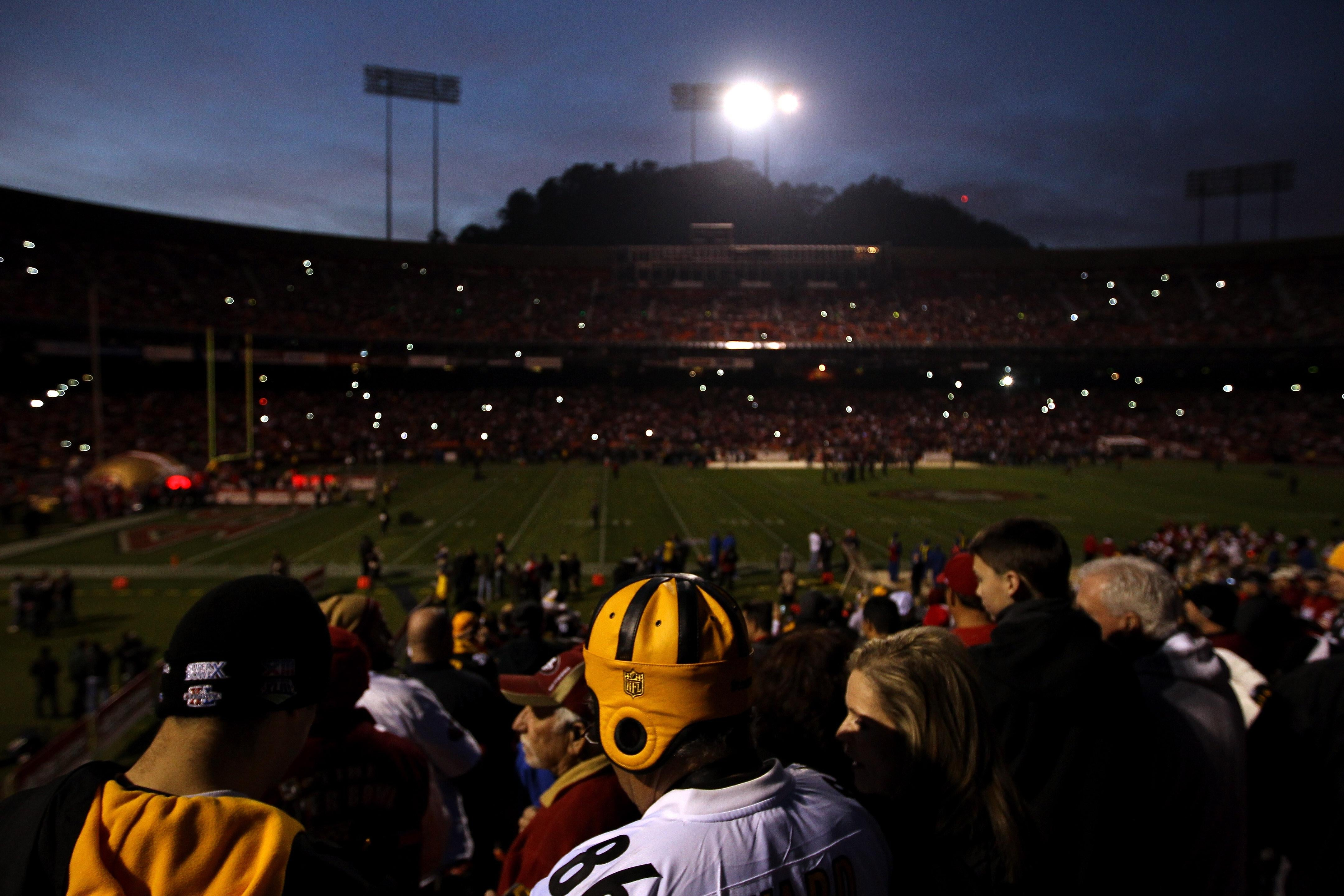 power out at candlestick