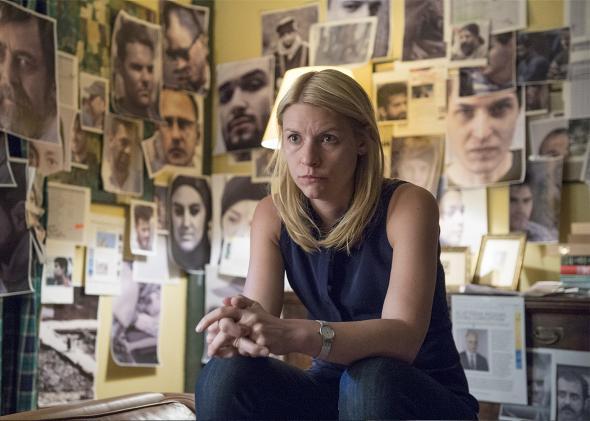 Claire Danes in Homeland Season 5