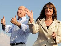 John McCain and Sarah Palin. Click image to expand.