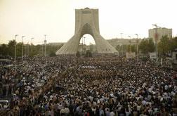 Iranian protestors. Click image to expand.