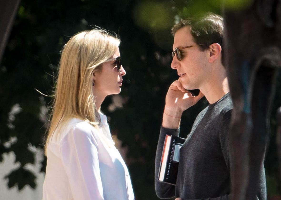 Ivanka and Jared