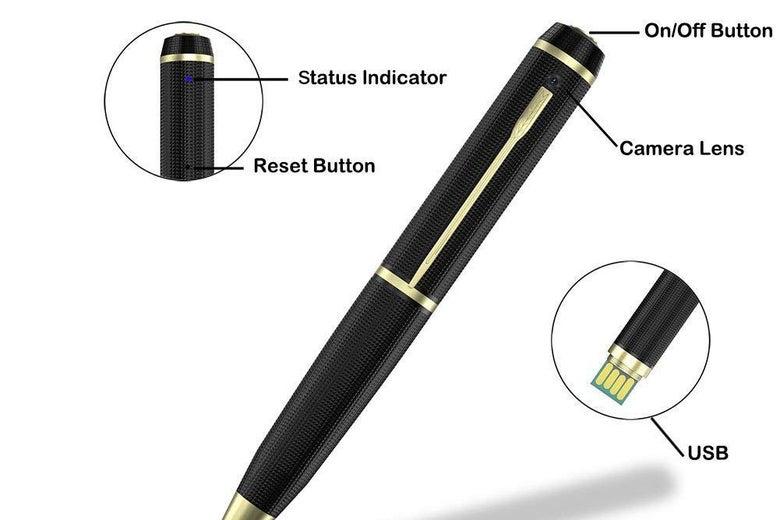 KIMUVIN Spy Pen Camera