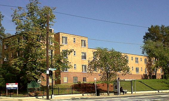Langston Terrace, the first federally funded housing project in America
