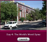 Click here to launch a slide show on day 4: the world's worst spies.