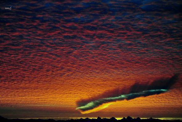 fallstreak cloud