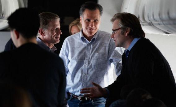 Mitt Romney and Eric Fehrnstrom.