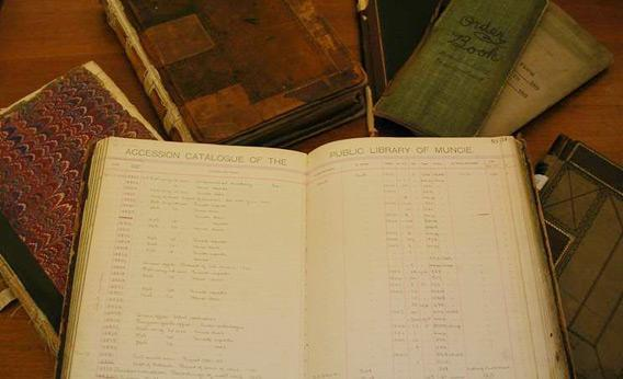 Library ledgers
