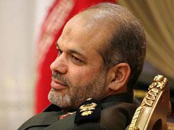 A picture taken in March 2008 shows Iran's defense minister-designate Ahmad Vahidi in Tehran.