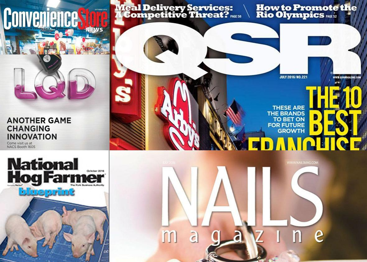 election magazines.