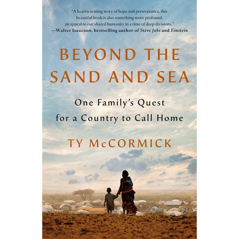 The cover of Beyond the Sand and Sea