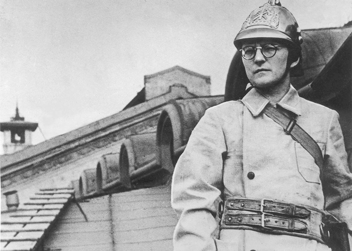 Shostakovich as a firefighter