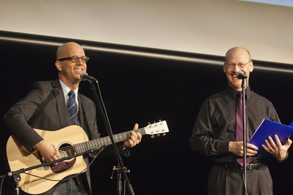 George Hrab and Phil Plait