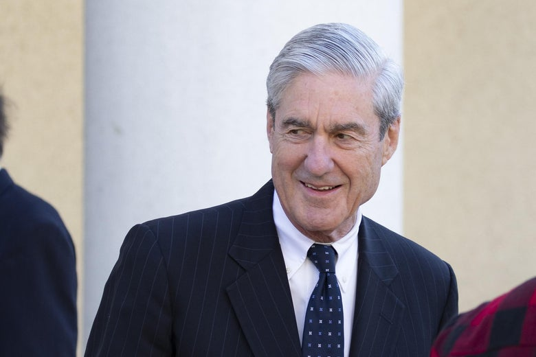 Special Counsel Robert Mueller walks after attending church on March 24, 2019 in Washington, D.C.
