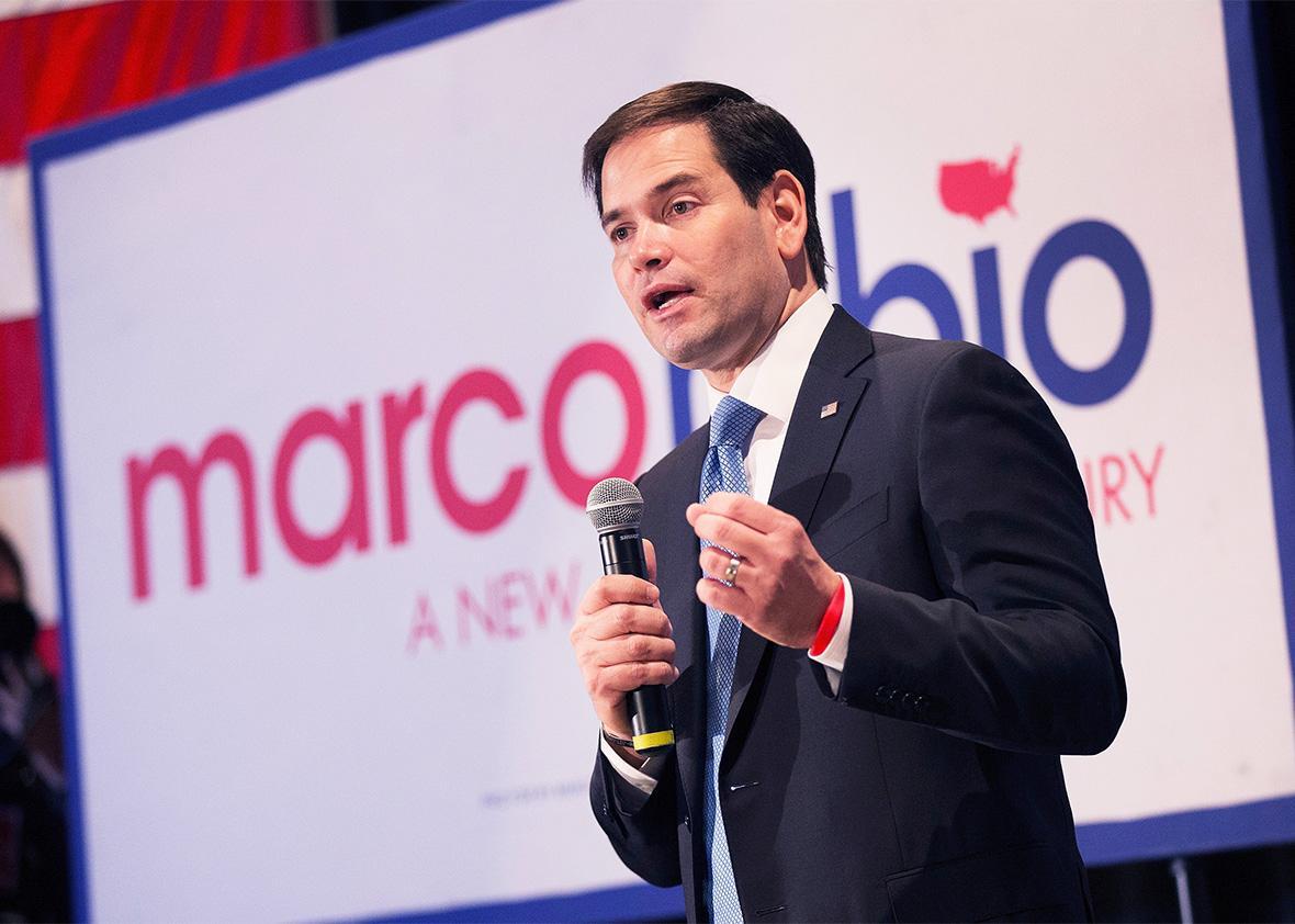 Marco Rubio antifeminist.