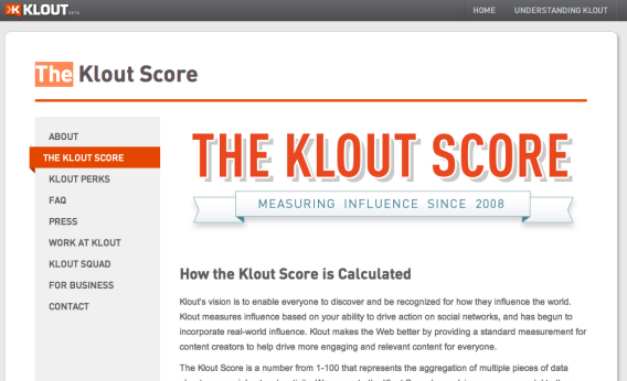 Klout has revamped its algorithm for calculating your online influence.