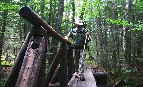 Mike Hanson on the Appalachian Trail