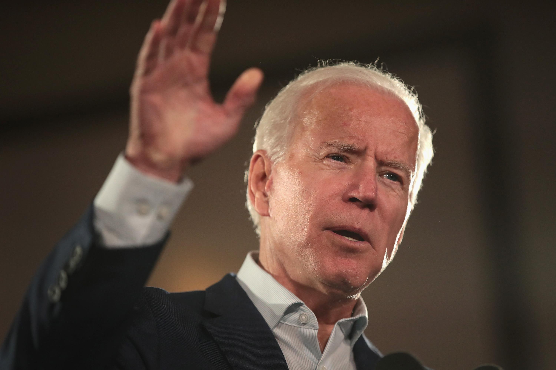 Former Vice President Joe Biden speaks on October 31, 2018 in Bridgeton, Missouri.