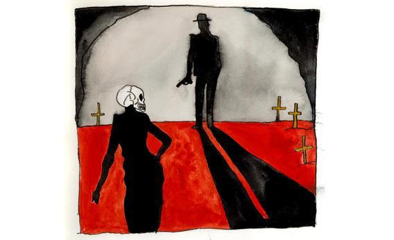 The Dead Women of Juárez author Sam Hawken.