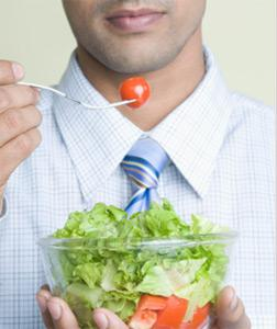 Salad eater. Click image to expand.