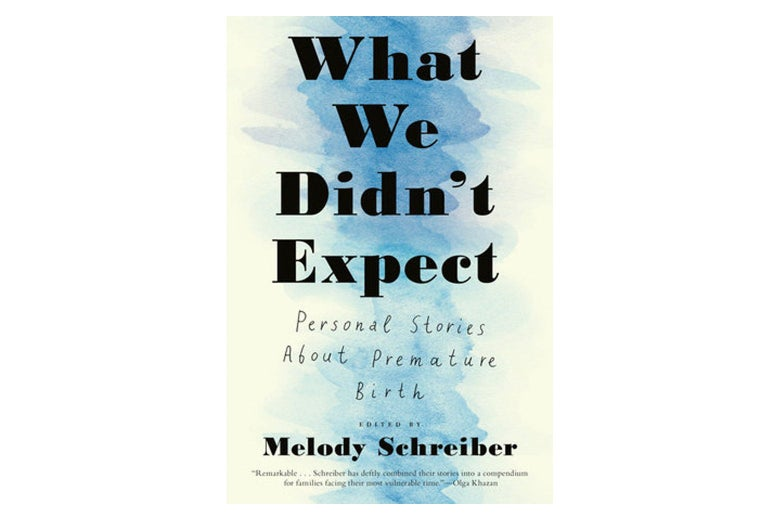 """A cover of the book """"What We Didn't Expect."""""""