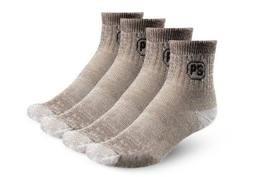 Four wool socks.