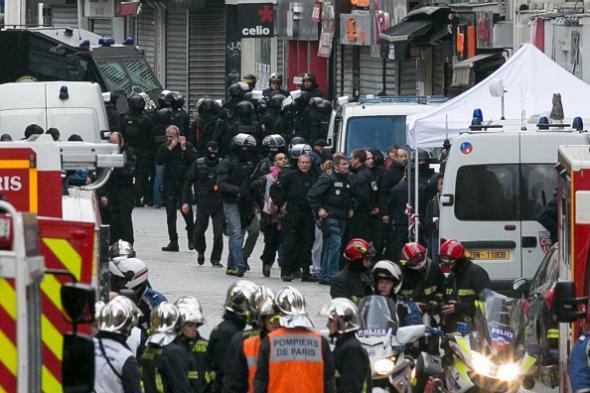 Saint-Denis raid