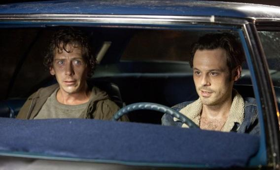 Ben Mendelsohn and Scoot McNairy in Killing Them Softly.