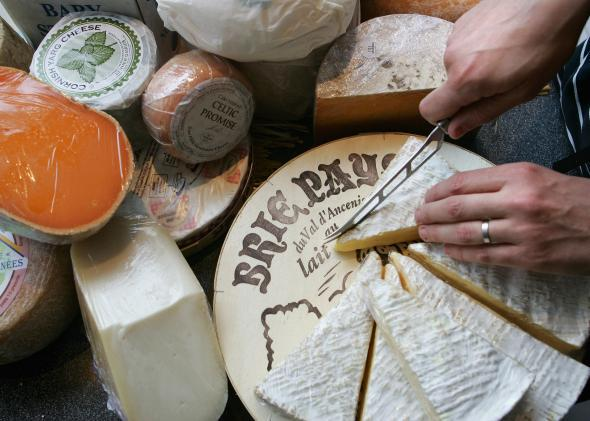 Cheese and European geographical indications: Why America
