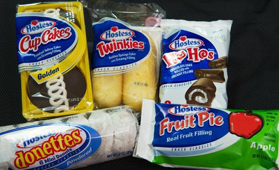 Hostess products.