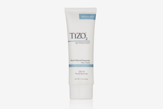 Tizo 2 Non-Tinted Facial Mineral Sunscreen.
