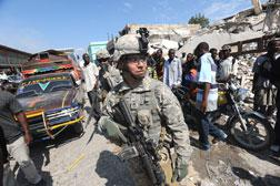 US. Troops in Haiti. Click image to expand.