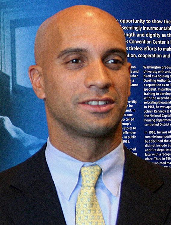 Adrian Fenty, former Mayor of Washington, D.C.