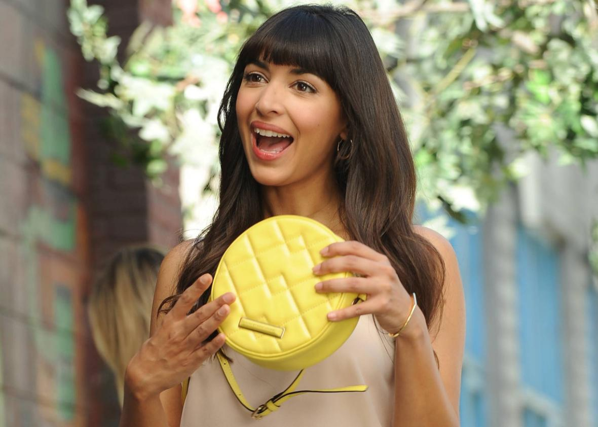 Hannah Simone as Cece in New Girl.