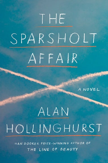 The Sparsholt Affair by Alan Hollinghurst. Cover by Knopf.