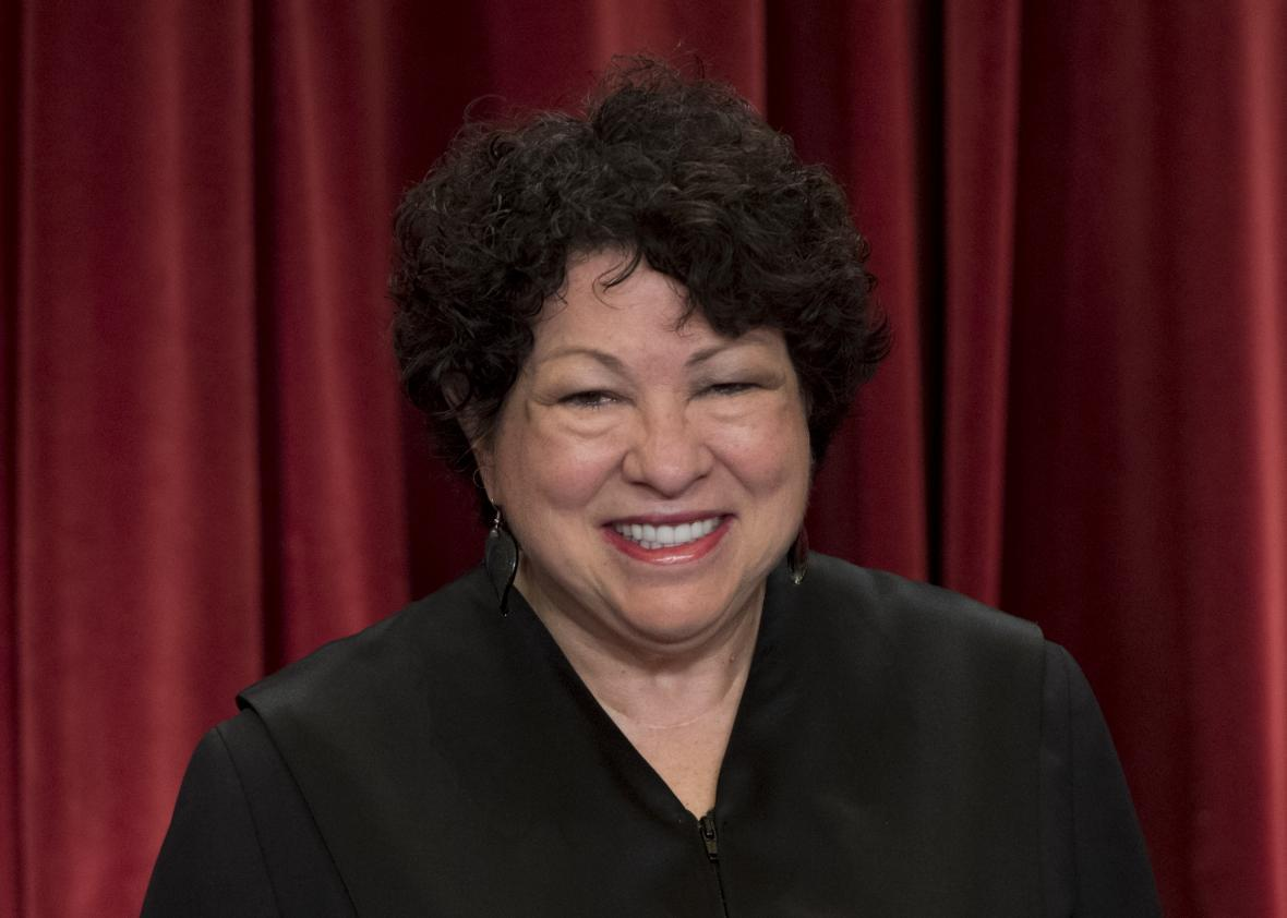 US Supreme Court Associate Justice Sonia Sotomayor