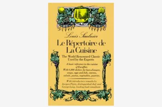 Le Répertoire De La Cuisine: The World Renowned Classic Used by the Experts.