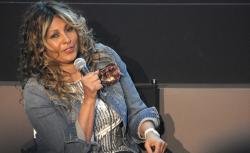"Actress Pam Grier speaks onstage at the ""Foxy, The Complete Pam Grier"" Film Series at Walter Reade Theater on March 15, 2013 in New York City.  (Photo by Michael Loccisano/Getty Images)"
