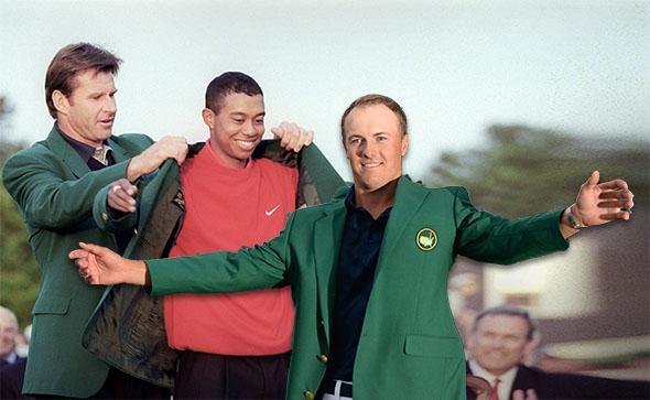 Tiger Woods Jordan Spieth.