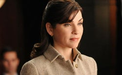 Julianna Margulies plays Alicia in 'The Good Wife.'