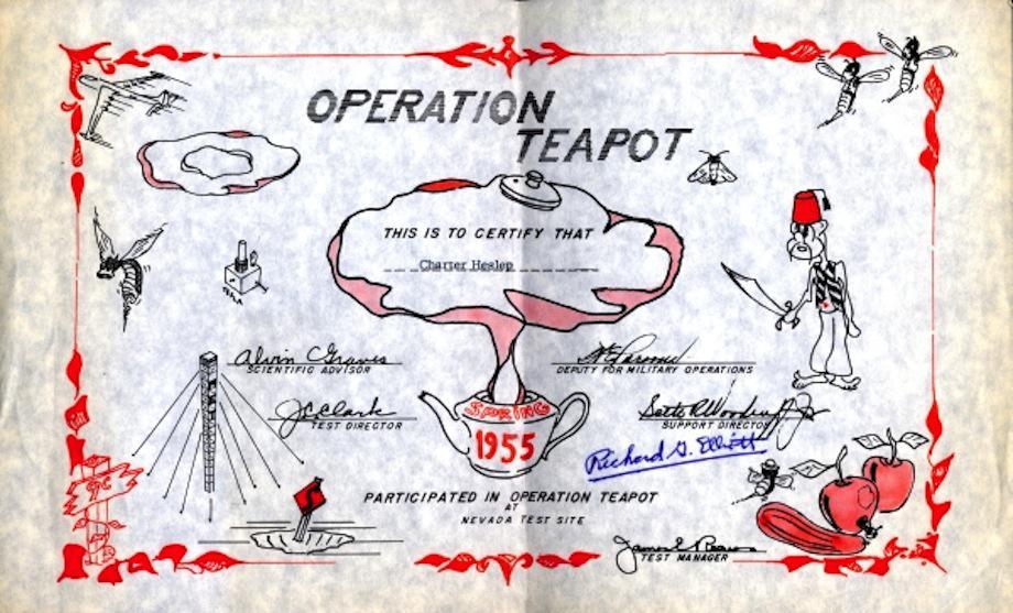 Teapot Diploma