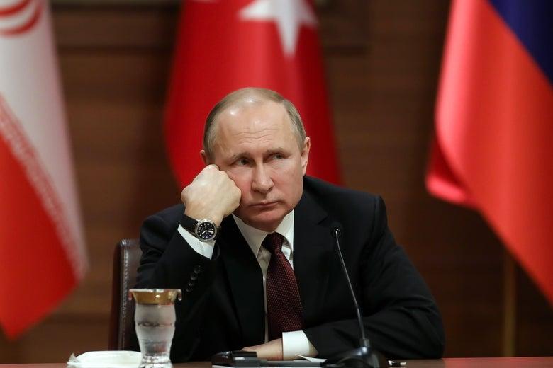 Presiden Rusia, Vladimir Putin (slate.com)