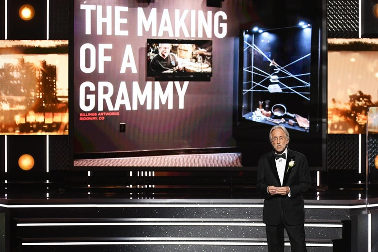 President of the Recording Academy during the most recent Grammy awards.