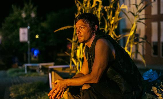 Daryl Dixon (Norman Reedus) in 'The Walking Dead.