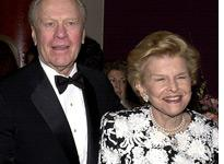 Gerald and Betty Ford, 2000. Click image to expand.